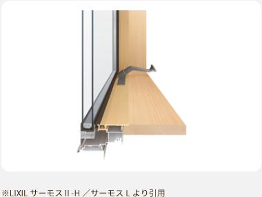※LIXIL サーモスⅡ-H/サーモスLより引用